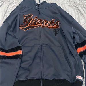 Super nice San Francisco giants zip up jacket